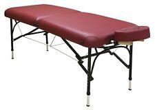Custom Craftworks Challenger Aluminum Frame Portable Masseuse Massage Table