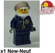 Lego - Figurine Minifig police policier motard Motorcycle Officer cty484 NEUF