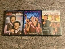 3 Comedy DVD Lot: Step Brothers, Rough Night, The Comedian BRAND NEW / SEALED