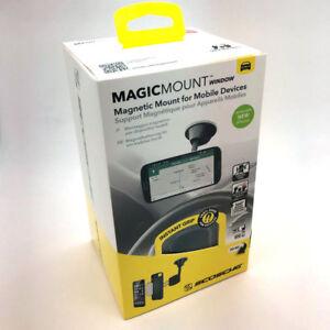 Scosche Magic Mount Magnetic Window Mount iPhone X 8 Mobile Smart Phone GPS NEW