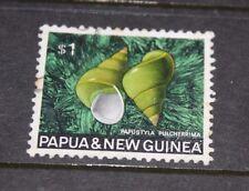 PAPUA NEW GUINEA 1968 SEA SHELLS $1.00 ISSUE VERY FINE F/U