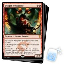 DRAGON WHISPERER X4 Dragons Of Tarkir DTK Magic MTG MINT CARD