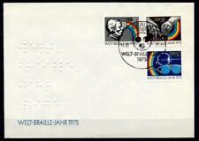 150 Jahre Braille-Blindenschrift. FDC. DDR 1975