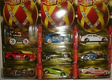 FULL SET OF 9 HOLIDAY HOT RODS ~ WALMART EXCLUSIVE ~ Hot Wheels 2011 ~ FREE POST