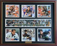 New PENRITH PANTHERS LEGENDS Memorabilia Limited Edition Framed Comes With COL