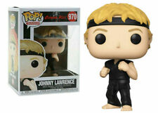 "COBRA-KAI JOHNNY LAWRENCE 3.75"" POP TELEVISION VINYL FIGURE FUNKO"