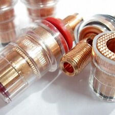 1pairs CMC-858-S-CU-R Speaker Horn Binding Post Connector Red Copper