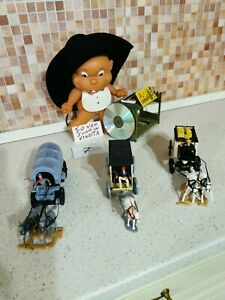 Timpo Toys. 3 Wagon.Colori rarissimi . Ottime condizioni