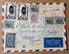 1 Enveloppe timbrée envoyée de Tunis en 1954 pour Istanbul (Turquie)