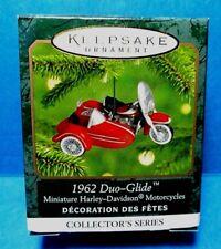 """Hallmark """"1962 Duo-Glide"""" Miniature Ornament 2000"""