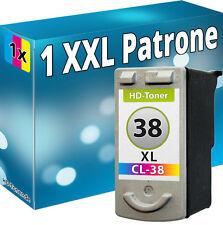 TINTE PATRONEN REFILL für CANON CL 38  MP140 MP190 MP210 MP220 MP470