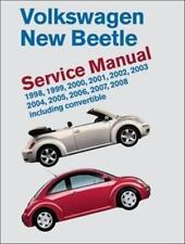 Volkswagen New Beetle Service Manual: 1998-2008: Including Convertible