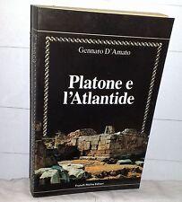 Gennaro D'Amato  PLATONE E L'ATLANTIDE   Fratelli Melita Editore  1990