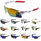 Outdoor Sport Sun Glasses Cycling Bicycle Riding Bike Eyewear Goggle UV400 Lens