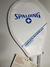 Vintage Spalding Tr1800 Graphite/Fiberglass 4 3/8L Tennis Racket - New With Tags