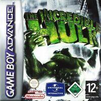 Nintendo GameBoy Advance Spiel - Hulk mit OVP