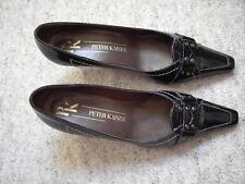 Damen Schuhe Pumps Gr 38 schwarz 5 Peter Kaiser Vintage
