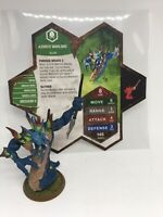 Heroscape Azurite Warlord C3V Customs