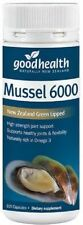 Good Health High Strength New Zealand Green Lipped Mussel 6000 - 100 capsules