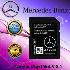 MERCEDES BENZ A2139069903 Garmin Map Pilot Navigation SD Card 2017 North America