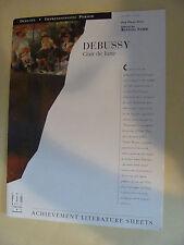 Debussy  Clair de Lune ed. Randall Faber  piano solo