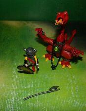 Playmobil 3327 Drache rot Drachenreiter Drachenritter