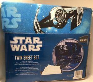 Star Wars Twin Sheet Set (New In Package Without Tags)