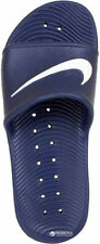 Nike Mens Kawa Shower Slide Sandals Size 10 Navy Blue