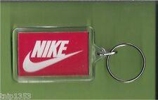 New Nike Orange/white Plastic Key Chain