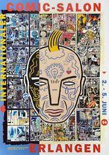 offizielles Plakat, Comic Salon Erlangen 1994