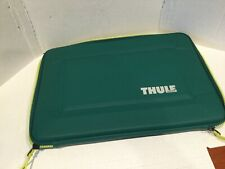 "Great Thule Laptop Tablet Case Sleeve 10"" x 14"" Green"