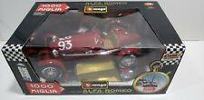Burago Alfa Romeo 2300 8C Monza '31 Special Collection 1/18 Model Made Italy NIB