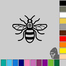 Small Manchester Bee 6cm GLOSS or MATTE! Vinyl Decal Sticker Phone, Car, Laptop!