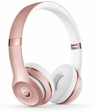 New Sealed Beats By Dr. Dre Solo3 Wireless On-Ear Headphones - Rose Gold