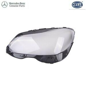 Mercedes W212 E350 E400 E500 E550 E63 AMG LEFT Headlamp Lens Cover OEM 14-16