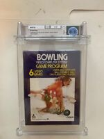 WATA 8.0 Bowling Purple Box Taiwan Atari Inc 2600 CIB 1977 CX2628 Make Offer