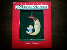 "Hallmark Miniature 1988   ""SWEET DREAMS""       ***NEW***"