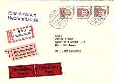 Ungeprüfte Briefmarken aus der BRD (1990-1999) mit Post- & Kommunikations-Motiv