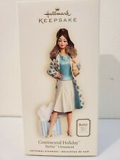 Hallmark Keepsake Ornament - Barbie: Continental Holiday (2007)