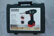 METABO 602194500 Akku-Bohrschrauber BS 12 NiCd