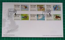 POST & GO BIRDS 3 2011 AUTUMN STAMPEX HYTECH PRINT FDC