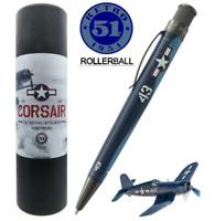 Retro 51 Tornado Rollerball / Pen, WW II CORSAIR