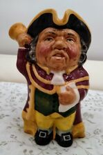 More details for toby jug town crier staffordshire character jug by manor excellent condition