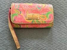 Lilly Pulitzer Smart Phone I.D. Wallet Wristlet It's a Keeper Cell Style 90958