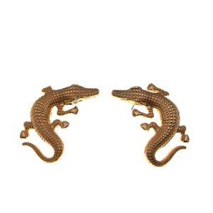 TOP Hipster crocodile Stud earring Woman jewelry exaggeration Big earrings