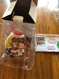 Campbell's Soup 1995 Ornament Kids on the Moon in Original Box