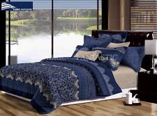 ASCOTT Super King Size Bed Duvet/Doona/Quilt Cover Set Brand New
