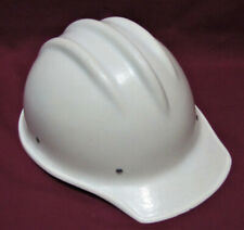 Original White Bullard 502 Fiberglass Hard Boiled Hard Hat Very Nice
