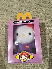 Grimace X Hello Kitty McDonalds Doll Plush Toy