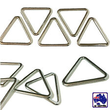 10pcs 26.5 2mm Triangle Buckle Metal Ring Looping Webbing Connector CKBD78326x10